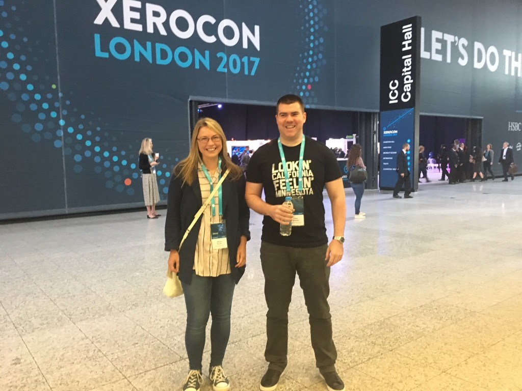 Our Xero accountants at Xerocon this year!